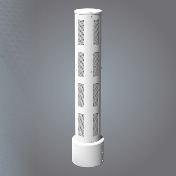 14 inch Pole Top Concealment for Wood Pole