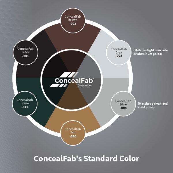 Concealfab's Standard Color Wheel